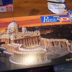 Puzzles: SAN PIETRO PLAZA ROMA PUZZLE 966 3D (MB) (J-5). Lote 221708808