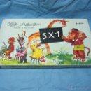 Puzzles: LOTO ARITMETICO CARTO PORTUGUES PUZLE TABLA MULTIPLICAR JUEGO ANTIGUO. Lote 48703077