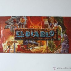 Puzzles: MINI PUZZLE NESTLE PORT AVENTURA EL DIABLO. 17 X 8 CM. VER FOTOS.. Lote 99358836