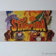 Puzzles: MINI PUZZLE NESTLE PORT AVENTURA STAMPIDA. 17 X 8 CM. VER FOTOS.. Lote 99358919