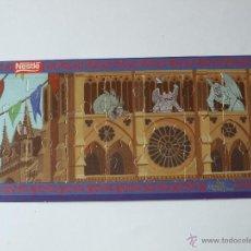 Puzzles: MINI PUZZLE NESTLE EL JOROBADO DE NOTRE DAME Nº 4. 17 X 8 CM. VER FOTOS.. Lote 48884960