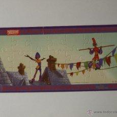 Puzzles: MINI PUZZLE NESTLE EL JOROBADO DE NOTRE DAME Nº 1. 17 X 8 CM. VER FOTOS.. Lote 48885017