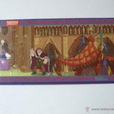 Puzzles: MINI PUZZLE NESTLE EL JOROBADO DE NOTRE DAME Nº 5. 17 X 8 CM. VER FOTOS.. Lote 48885102