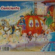 Puzzles: PUZZLE INFANTIL CENICIENTA. 28,5 X 23 CM. 24 PIEZAS. VER FOTOS PARA VER DETALLES.. Lote 48907266