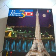 Puzzles: PUZZLE 3 D - LA TORRE EIFFEL - ROMPECABEZAS. Lote 55051533