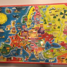 Puzzli: ANTIGUO PUZZLE DISET 215 PIEZAS, MAPA DE LA NUEVA EUROPA, A ESTRENAR. Lote 48926230