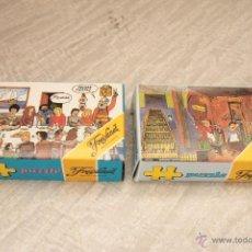 Puzzles: 2 ANTIGUOS PUZZLES DE FREIXENET, A ESTRENAR Y CON SUS CAJAS -REF3500- PUZLE PUZZLE. Lote 49246637