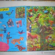 Puzzles: 5 PUZLES DE ANIMALES, TAPAS ACOLCHADAS. Lote 49399063