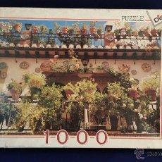 Puzzles: PUZZLE DE 1000 PIEZAS - BALCÓN ESPAÑOL - DISET. Lote 49461537