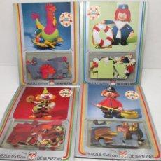 Puzzles: LOTE 4 PUZLES PUZZLES DE EDUCA ,COLECCIÓN OYO, AÑOS 70. Lote 49591641