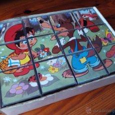 Puzzles: ROMPECABEZAS CAPERUCITA ROJA LOBO FEROZ. Lote 49688062