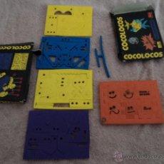 Puzzles: MAGNIFICO JUEGO DE COCOLOCOS VARIADOS CON DOS CAJAS ORIGINALES COCO CRASH. Lote 50268684