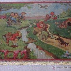 Puzzles: ANTIGUO ROMPECABEZAS DE CUBOS - ORIGINAL AÑOS 40. Lote 50458832