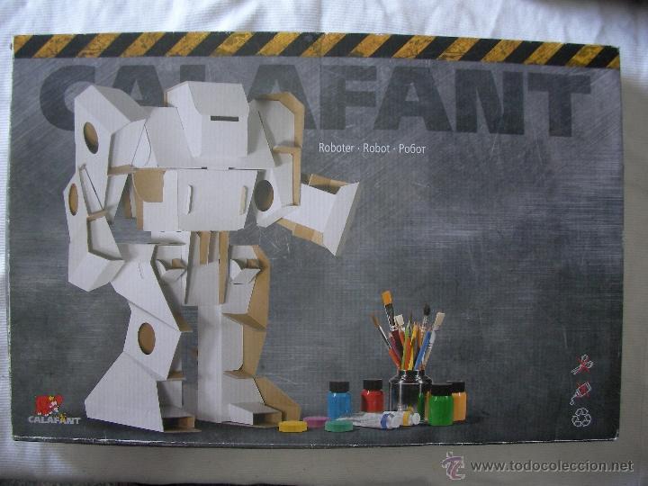maqueta calafant robot en carton armable comprar puzzles antiguos en todocoleccion 50635796. Black Bedroom Furniture Sets. Home Design Ideas