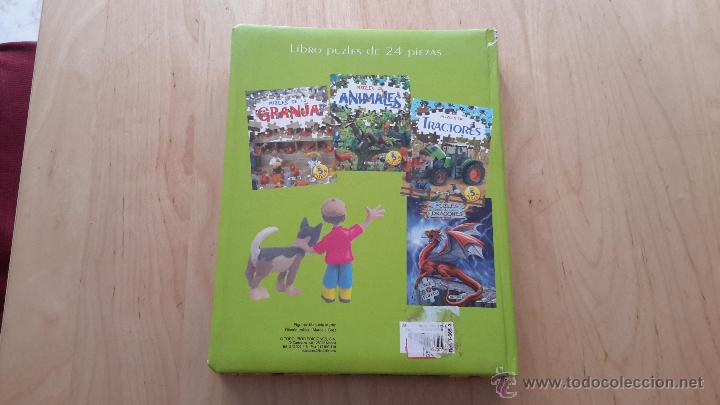 Puzzles: Libro puzzles de tractores con 5 puzzles de 24 piezas cada uno completo - Foto 4 - 137461685
