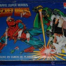Puzzles: SECRET WARS - MARVEL SUPER HÉROES - PUZZLE CUBOS - DALMAU CARLES PLA. Lote 50803344