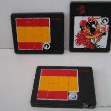 Puzzles: LOTE DE 3 ROMPECABEZAS (PUZZLES) - PUZZLE ANTIGUO AÑOS 80 .. Lote 50913557