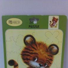 Puzzles: BONITO PUZZLE DE CARTON DECORADO . COLECCION PERLA . AÑOS 80. Lote 51198603