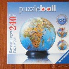 Puzzles: PUZZLE PUZZLE-BALL GLOBO MUNDO COMO NUEVO . Lote 51316834