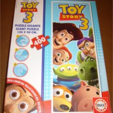 Puzzles: TOY STORY 3 - PUZZLE GIGANTE 136 X 48 CM - DISNEY - PIXAR - EDUCA - 400 PZAS - COMPLETO - COMO NUEVO. Lote 51553940