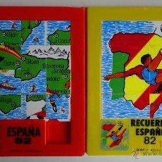 Puzzles: PUZZLE 2 PUZZLES ESPAÑA 82. Lote 51687311