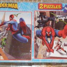 Puzzles: SPIDERMAN 2 PUZLES DE 100 PIEZAS CADA UNO. Lote 51718183