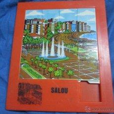 Puzzles: PUZLE PUZZLE TIPO ANDREFER: POBLACION SALOU. Lote 52003435