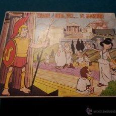 Puzzles: ERASE UNA VEZ...EL HOMBRE - ROMPECABEZAS - CARLES DALMAU PLA, REF.670 - COMPLETO. Lote 52724396