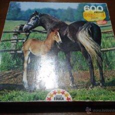 Puzzles: PUZZLE DE MESA EDUCA - 600 PIEZAS.. Lote 52752172