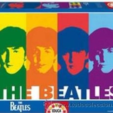 Puzzles: THE BEATLES. EDUCA PUZZLE 1000 PIEZAS. REFERENCIA 14471. 68 X 48 CM. POP ART. NUEVO CON PRECINTO!!!. Lote 52948552