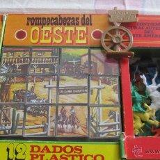 Puzzles: M69 ROMPECABEZAS DEL OESTE PAPIROTS AÑOS 70. Lote 53172816