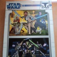 Puzzles: STAR WARS - PUZZLE 2X 48 PIEZAS - EDUCA 20 X 28 CM. Lote 53194288