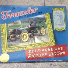 Puzzles: TRUCOLOR. PICTURE JIG-SAW. VETERAN CAR. PUZZLE COCHE ANTIGUO. Nº 3. 1902. DE DIETRICH. Lote 53214525