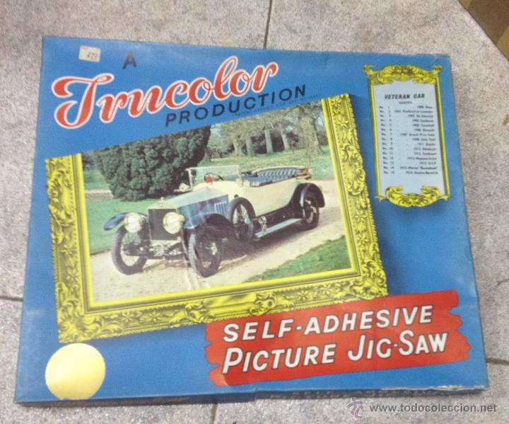 TRUCOLOR. PICTURE JIG-SAW. VETERAN CAR. PUZZLE COCHE ANTIGUO. EL DE LA FOTO (Juguetes - Juegos - Puzles)