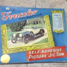 Puzzles: TRUCOLOR. PICTURE JIG-SAW. VETERAN CAR. PUZZLE COCHE ANTIGUO. EL DE LA FOTO. Lote 53214531