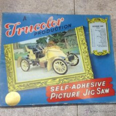 Puzzles: TRUCOLOR. PICTURE JIG-SAW. VETERAN CAR. PUZZLE COCHE ANTIGUO. Nº 5. 1905. VAUXHALL. Lote 53214536