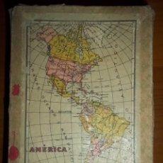 Puzzles: ROMPECABEZAS PUZZLE CUBOS BORRAS. ESPAÑA , EUROPA. AMERICA, AFRICA,OCEANIA. BORRAS 1940. Lote 53425324