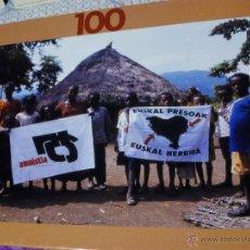 Puzzles: PUZZLE DE FOTOGRAFIA EN ALDEA AFRICANA EN FAVOR DE LOS PRESOS VASCOS Y LA AMNISTIA. Lote 53603128