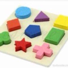 Puzzles: PUZLE FORMAS MADERA ( 2'5 / 3 AÑOS). Lote 53840021