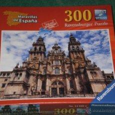 Puzzles: PUZZLE 300 PIEZAS , CATEDRAL DE SANTIAGO DE COMPOSTELA . RAVENSBURGER , PRECINTADO AÑO 2012 .. Lote 53841586
