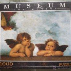 Puzzles: RAFAEL ÁNGELES MADONNA SIXTINA PUZZLE 1000 PIEZAS MUSEUM COLLECTION CLEMENTONI PRECINTADO QUERUBINES. Lote 53988849