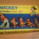 Puzzles: ANTIGUO PUZZLE DIDACTA MICKEY WALT DISNEY 5 PUZZLES-NUEVO A ESTRENAR.MUY RARO. Lote 54038928