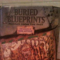 Puzzles: PUZZLES BURIED BLUEPRINTS THE LEGENDS OF KING ARTHUR 1992. Lote 54070342