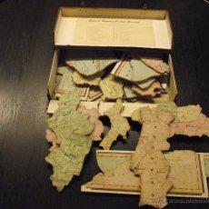 Puzzles: MAPA DE ESPAÑA Y PORTUGAL, AÑOS 30. Lote 54272517