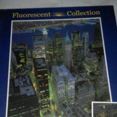 Puzzles: PUZZLE NEW YORK , FLUORESCENT COLLECTION, 1000 PIEZAS - CLEMENTONI. Lote 54340368