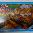 Puzzles: PUZZLE FOURNIER DISNEY BLANCANIEVES 60 PIEZAS + POSTER . PRECINTADO NUEVO. AÑOS 90. Lote 54411858