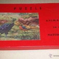 Puzzles: ANTIGUO PUZZLE ANIMALES EN LA - PUZZLE AÑOS 60. Lote 54411960