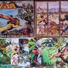 Puzzles: ROMPECABEZAS --TARZÁN-- DALMAU. COMPLETO.. Lote 54477447