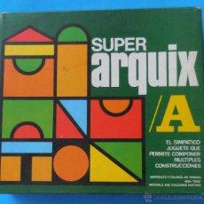 Puzzli: JUEGO DE CONSTRUCCIÓN SUPER ARQUIX. JUGUETES KORIS. EN CAJA SIN ESTRENAR. Lote 54496104