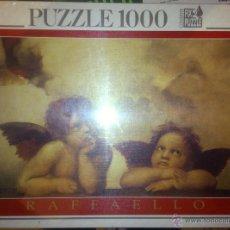 Puzzles: PUZZLE LA MADONNA SISTINA, RAFFAELLO - 1000 PIEZAS - EDUCA - QUERUBINES - ANGELES. Lote 54602030